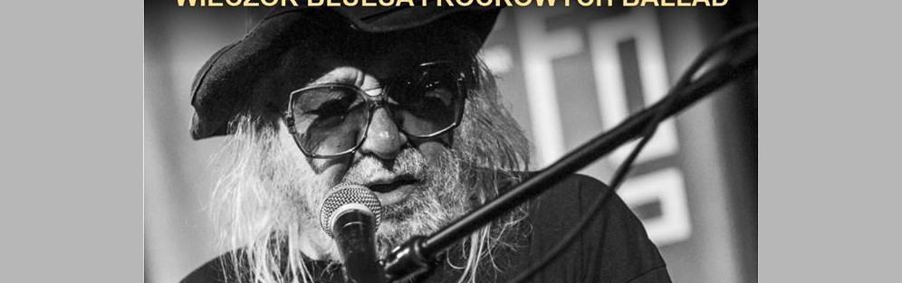 Antoni Krupa - wieczór bluesa i rockowych ballad - koncert