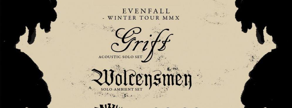 Evenfall Winter Tour 2020: Grift & Wolcensmen