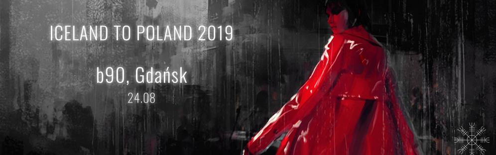 Iceland To Poland 2019 aYia, FM Belfast - koncert