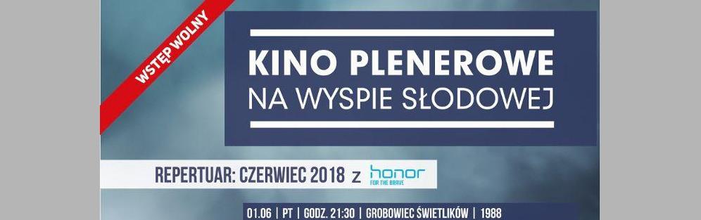 Kino plenerowe na Wyspie Słodowej - Cinema Paradiso