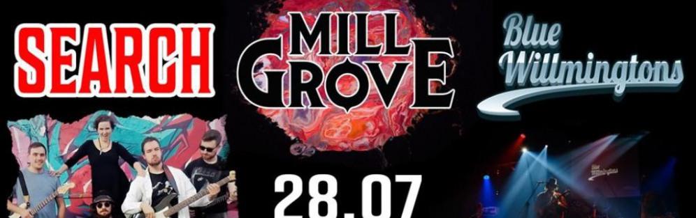 Koncert Mill Grove, Blue Willmingtons, Search