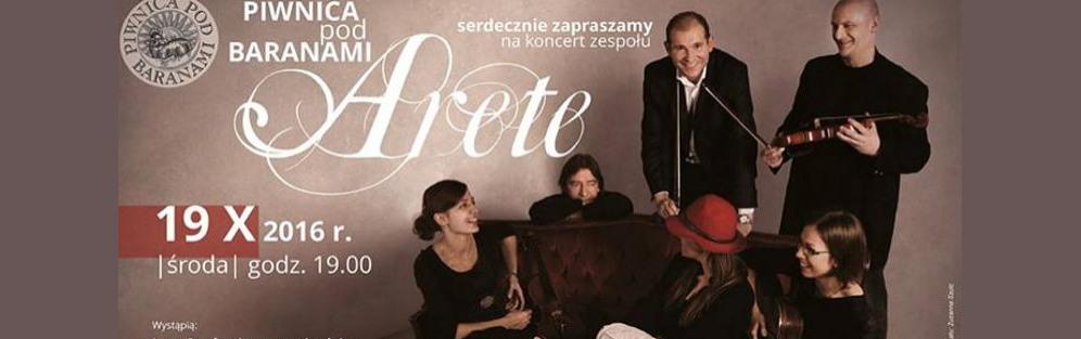 Koncert zespołu Arete