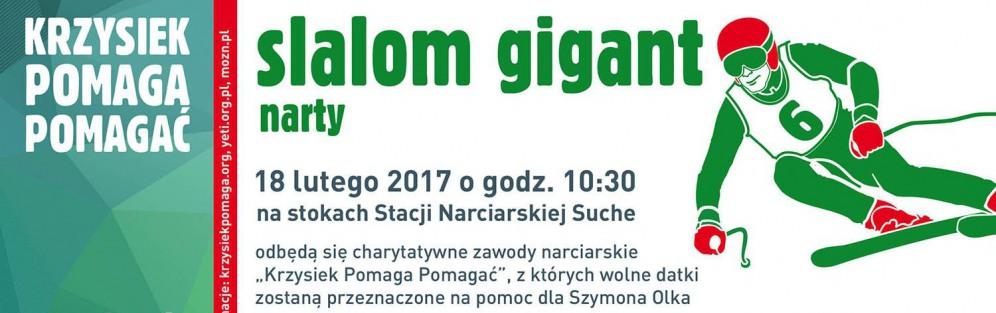 Krzysiek Pomaga Pomagać - slalom gigant i koncert