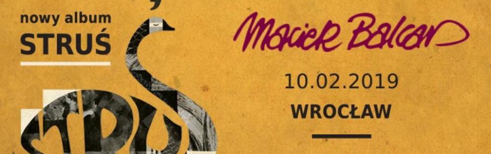 Maciej Balcar - Struś- koncert
