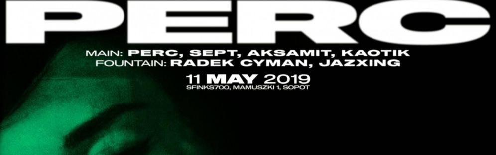 Perc/ Sept / Aksamit / Kaotik - koncert