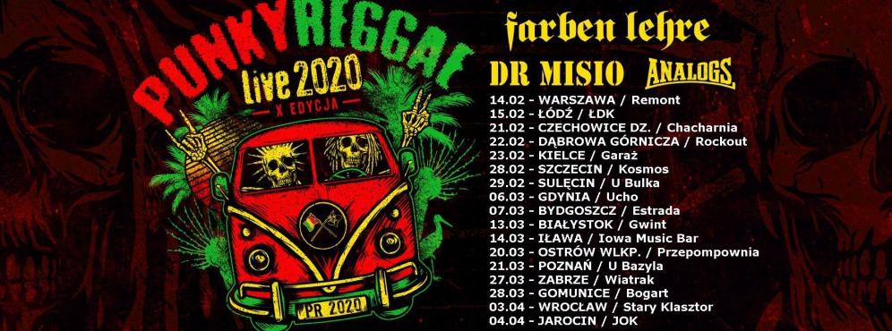 Punky Reggae Live 2020 - koncert