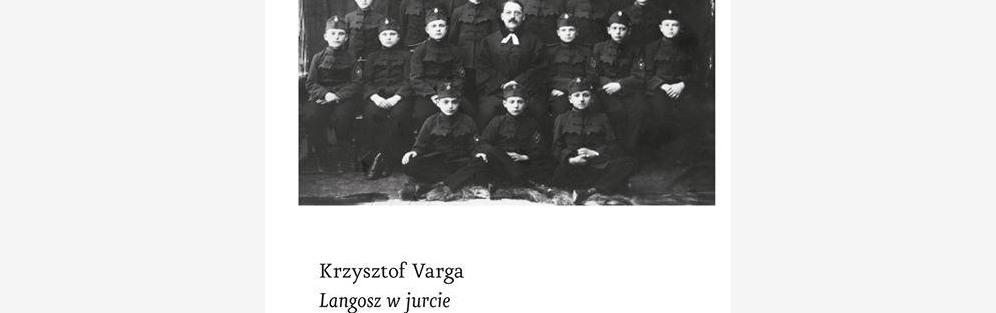 Spotkanie z Krzysztofem Vargą - langosz w jurcie.