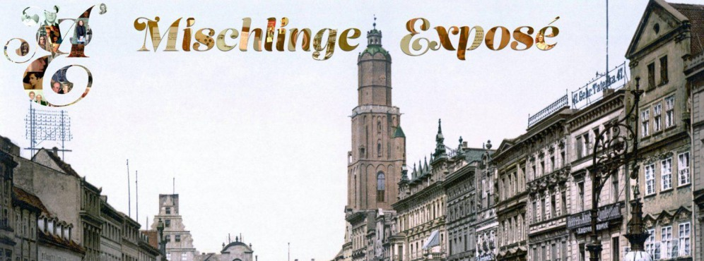 The Mischlinge Exposé - Carolyn Enger