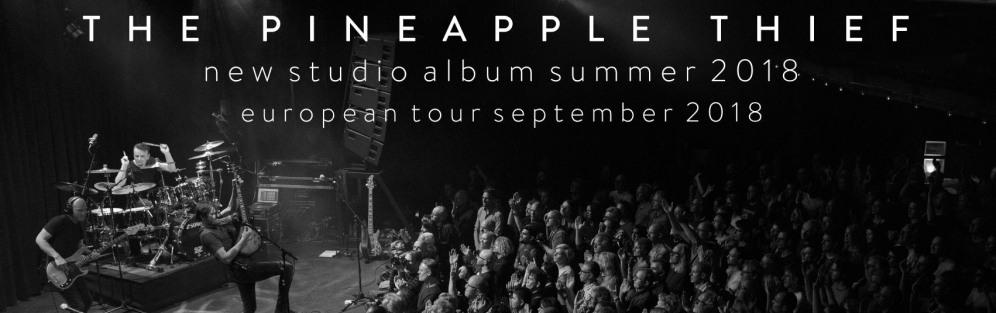 The Pineapple Thief featuring Gavin Harrison - koncert