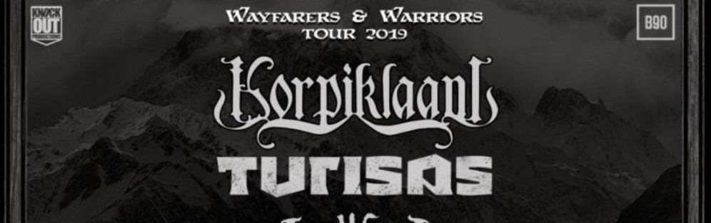 Wayfarers & Warriors Tour 2019 - koncert