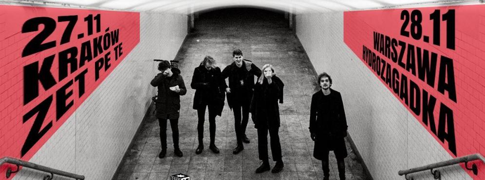 Whispering Sons - Warszawa, Hydrozagadka (zmiana!) - koncert