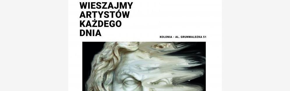 Wieszajmy artystów każdego dnia: Wernisaż Michał Linow