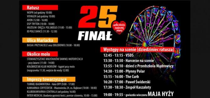25. Finał WOŚP w Kołobrzegu