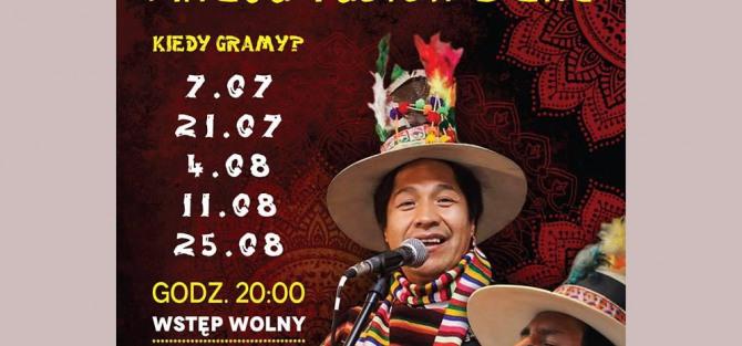 Ahaju Fusion Bolivia koncert
