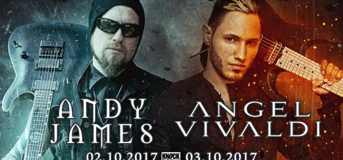 Angel Vivaldi, Andy James