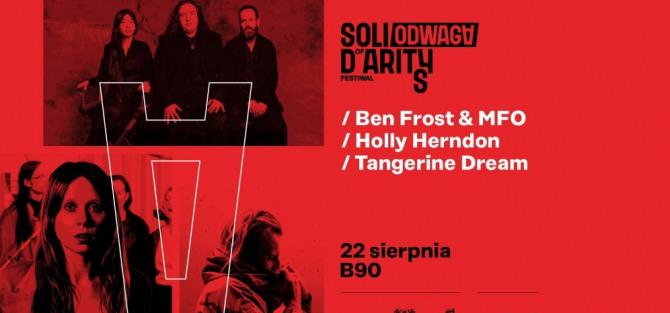 Ben Frost & MFO, Holly Herndon, Tangerine Dream - koncert
