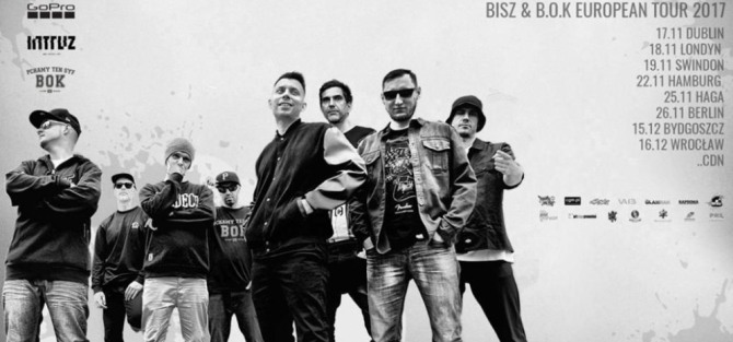 BISZ & B.O.K - European Tour 2017 - Wrocław - koncert