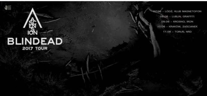 Blindead 2017 Tour