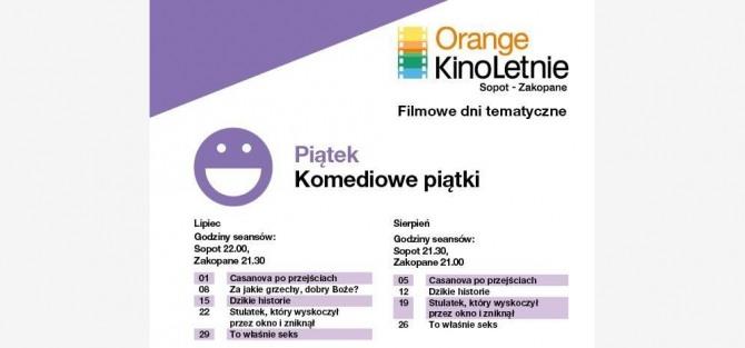 Casanova po przejściach film w ramach Orange Kino Letnie Sopot - Zakopane 2016