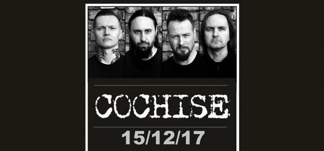 Cochise+support Aterra - koncert