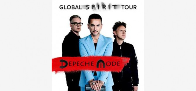 Depeche Mode: Global Spirit Tour - koncert