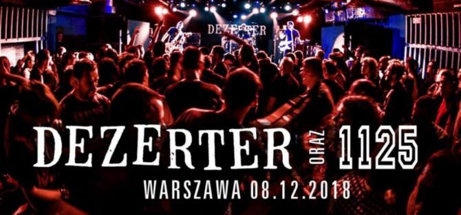 Dezerter oraz 1125 - koncert