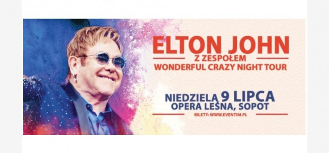 Elthon John z zespołem Wonderful Crazy Night Tour - koncert