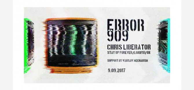 ERROR 909 with Chris Liberator - koncert