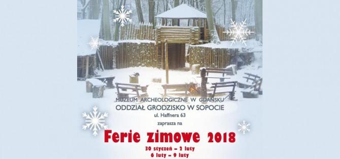 Ferie zimowe na Grodzisku w Sopocie