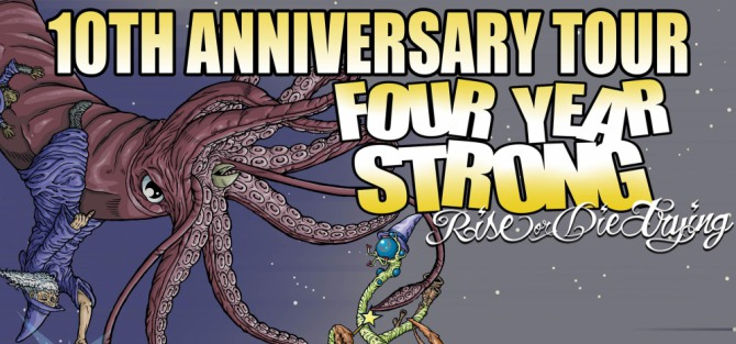 Four Year Strong- koncert