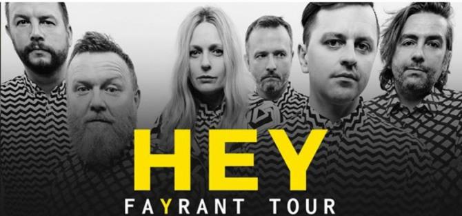 Hey / Fayrant Tour - koncert
