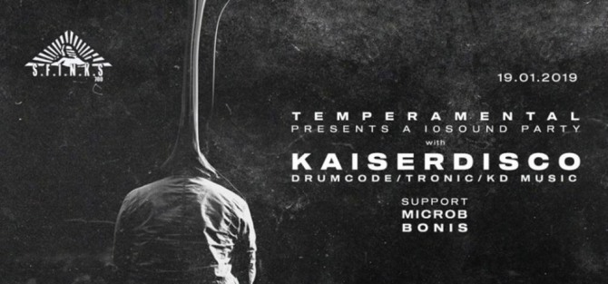 I0 Sound Party by Temperamental w/ Kaiserdisco - koncert