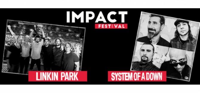 Impact Festival 2017 - Linkin Park - koncert