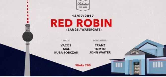 Intercity Red Robin (Bar 25 / Berlin) - wydarzenie muzyczne
