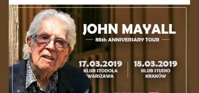 John Mayall / 85th Anniversary Tour