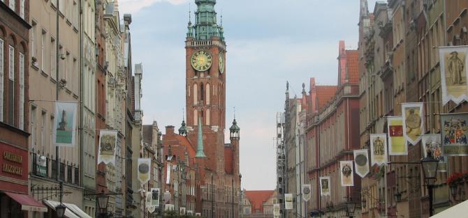 Kilka zabytków Gdańska