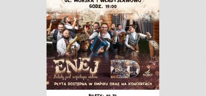 Kolędowy koncert zespołu Enej