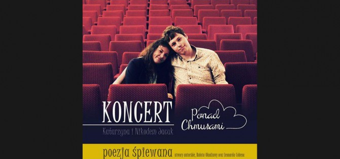"Koncert duetu ""Ponad Chmurami"" - Topos Cafe w Sopocie"