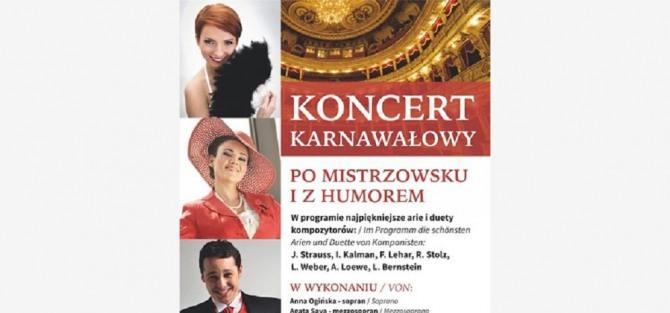 Koncert Karnawałowy - Po mistrzowsku i z humorem