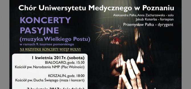 Koncert Pasyjny Chóru Uniwersytetu Medycznego z Poznania