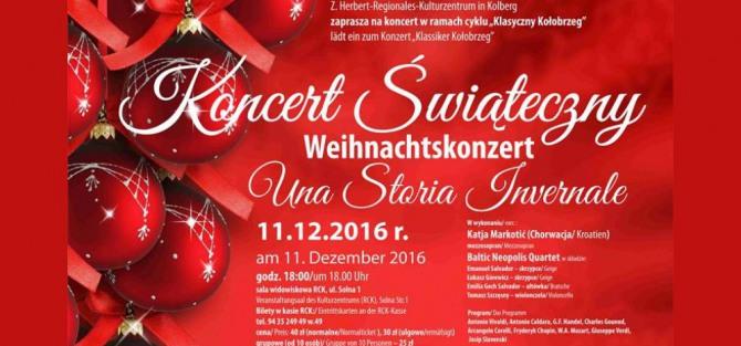 """Koncert Świąteczny pt. """"Una Storia Invernale"""""""