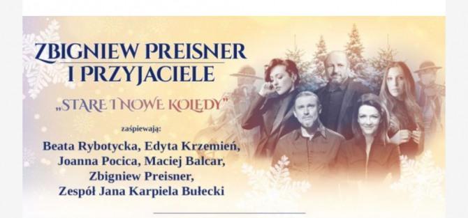 """Koncert """"Zbigniew Preisner i Przyjaciele. Stare i nowe kolędy"""""""