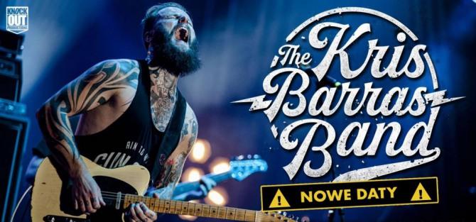 Kris Barras Band - koncert
