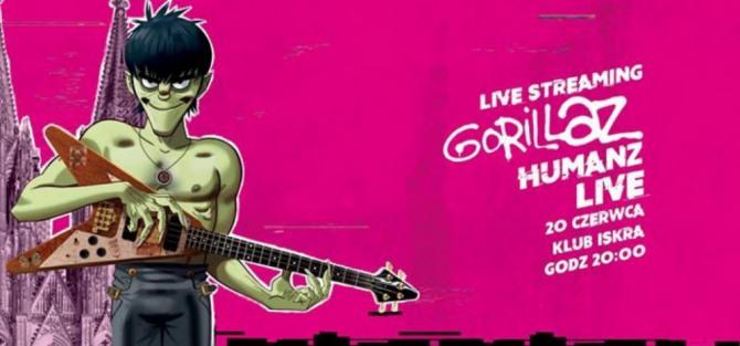 Live stream koncertu Gorillaz x T-Mobile Electronic Beats