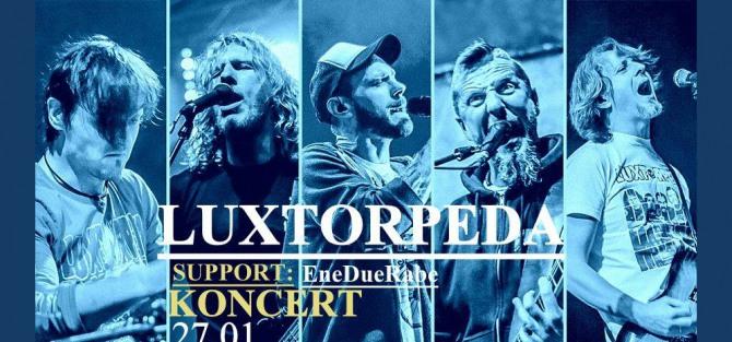 Luxtorpeda / support: EneDueRabe - koncert