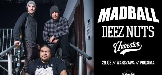Madball + Deez Nuts, Unbeaten - koncert