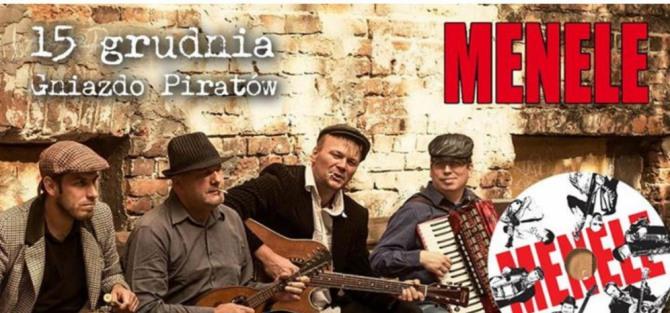 Menele - folk warszawski w Gnieździe Piratów- koncert
