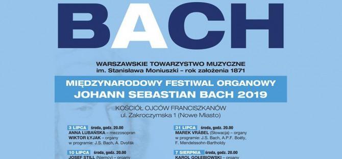 """Międzynarodowy Festiwal Organowy """"Johann Sebastian Bach"""" 2019 - koncert"""