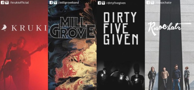 Mill Grove x Dirty Five Given x Kruki x Rosochate
