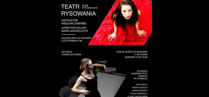 Pokaz Teatru Rysowania - Performance